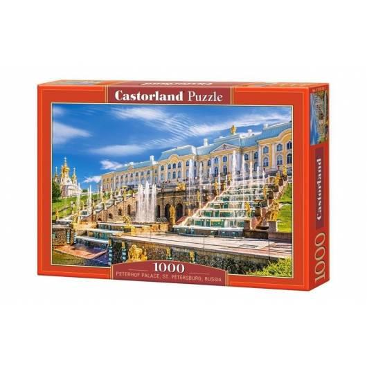 Puzzle 1000 Pałac Peterhof, Petersburg.. CASTOR