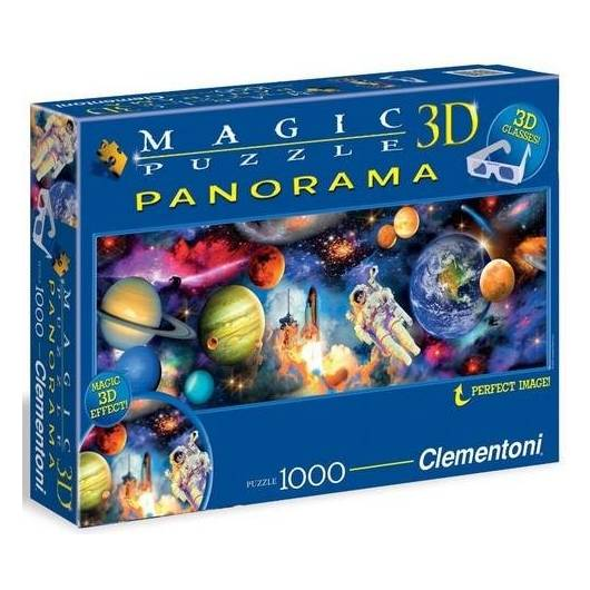 Puzzle 1000 Magic 3D Planety