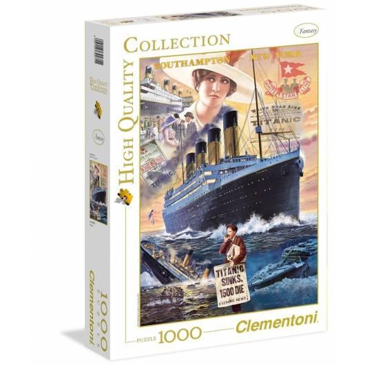 Puzzle 1000 HQ Titanic