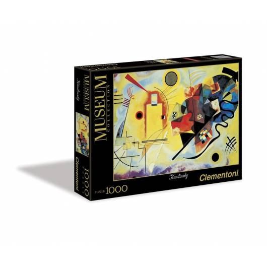Puzzle 1000 Museum Modern Art Yellow-Red-Blue