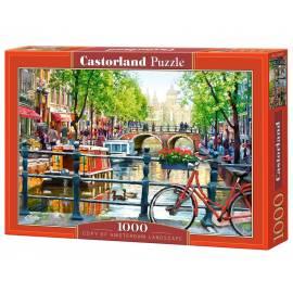 Puzzle 1000 Amsterdam krajobraz CASTOR