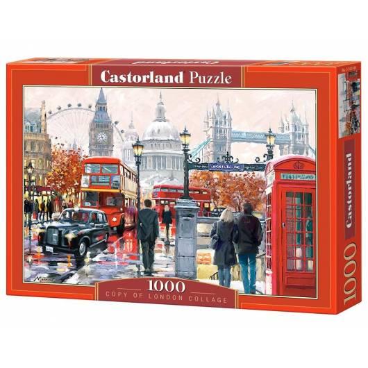 Puzzle 1000 London Collage CASTOR