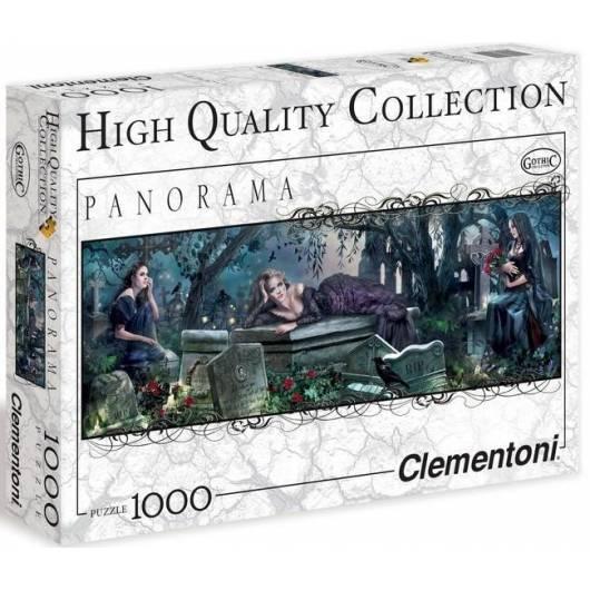 Puzzle 1000 HQ Panorama Cmentarz