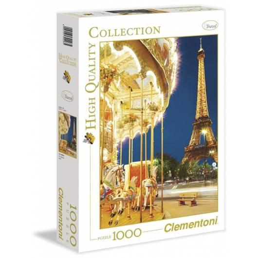 Puzzle 1000 HQ Paris. Le carousel