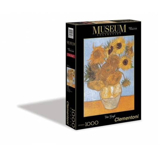 Puzzle 1000 Museum Sunflowers