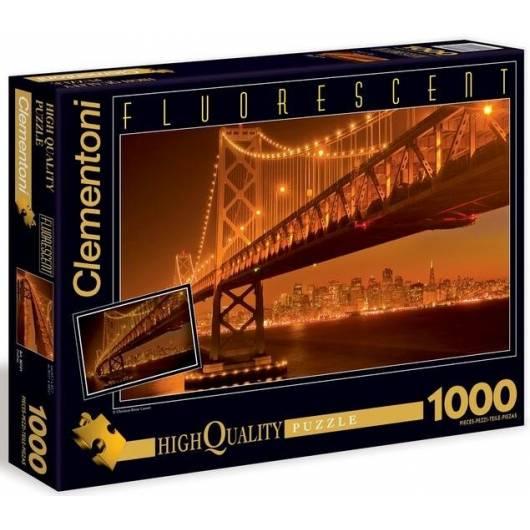 Puzzle 1000 Fluo San Francisco
