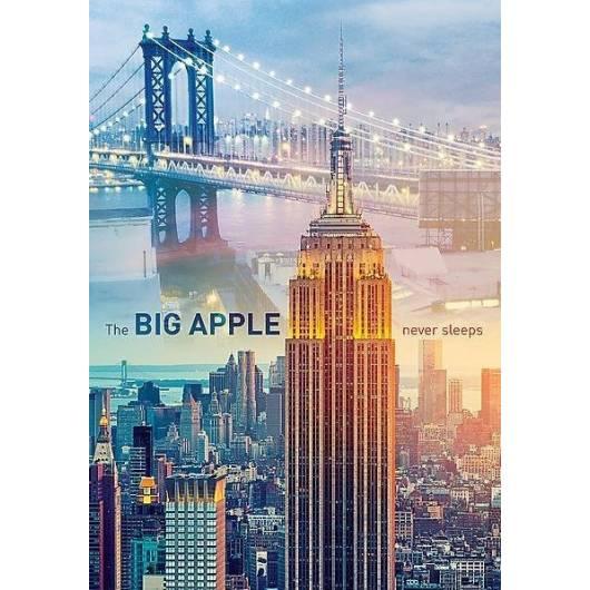 Puzzle 1000 Nowy Jork o świcie TREFL