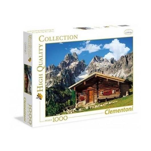 Puzzle 1000 HQ Austria: The Mountain House