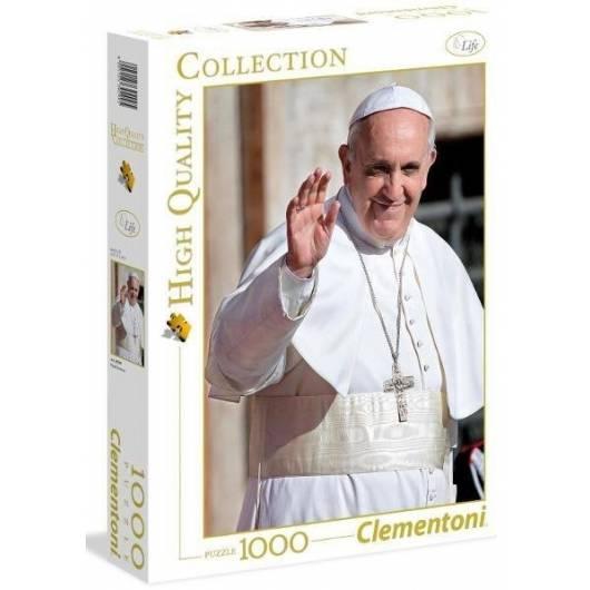Puzzle 1000 HQ Papież Franciszek