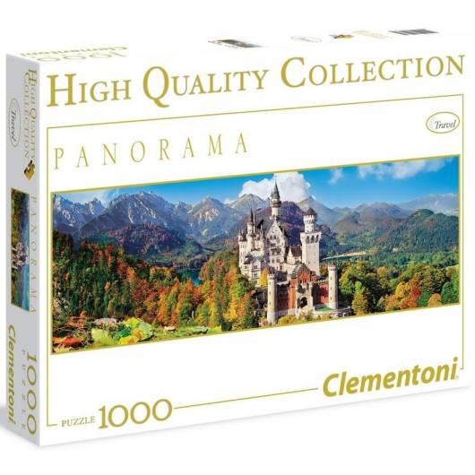 Puzzle 1000 HQ Panorama Neuschwanstein