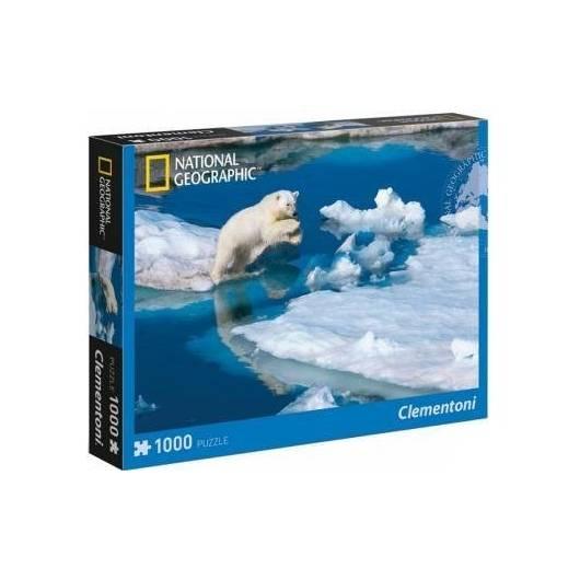 Puzzle 1000 National Geographic Niedźwiedź Polarny
