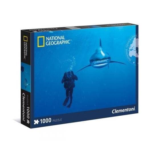 Puzzle 1000 National Geographic Whitetip shark
