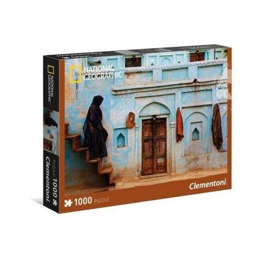 Puzzle 1000 National Geographic Pastel Facade