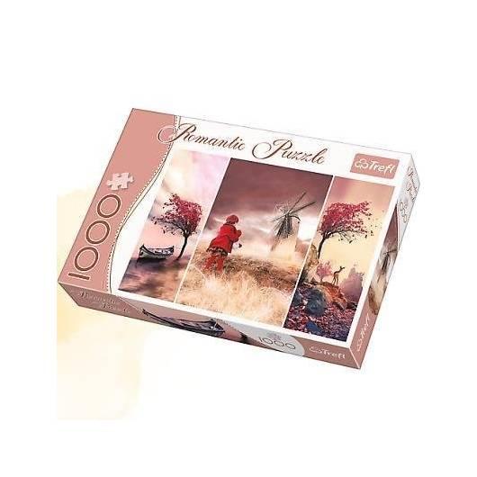 Puzzle 1000 Romantic - Baśniowa Kraina TREFL