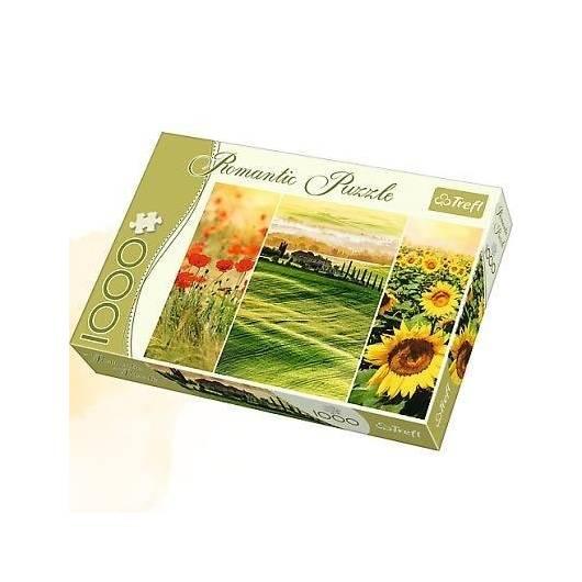 Puzzle 1000 Romantic - Słoneczna Toskania TREFL