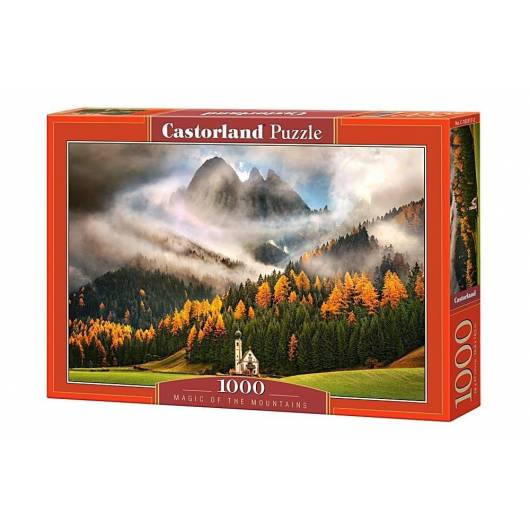 Puzzle 1000 Magia gór CASTOR
