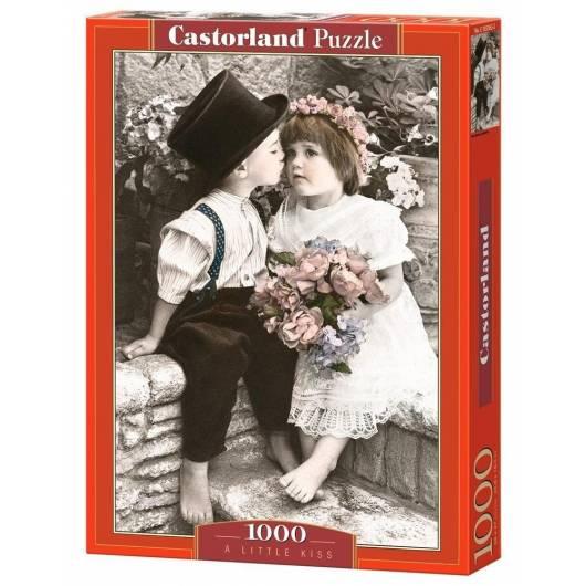 Puzzle 1000 Mały pocałunek CASTORLAND