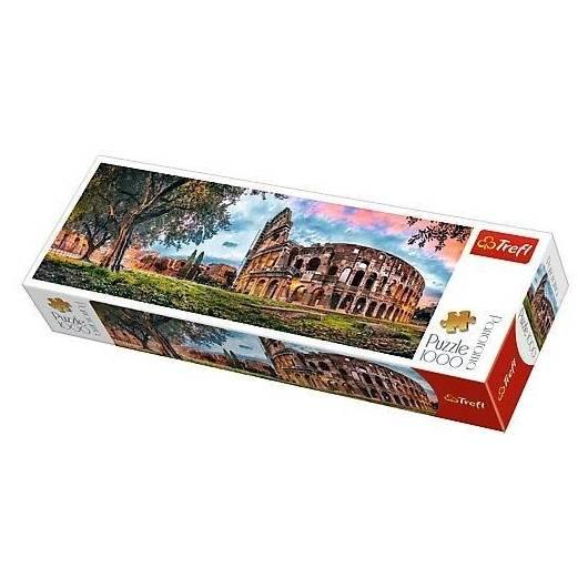 Puzzle 1000 Panorama - Koloseum o poranku TREFL