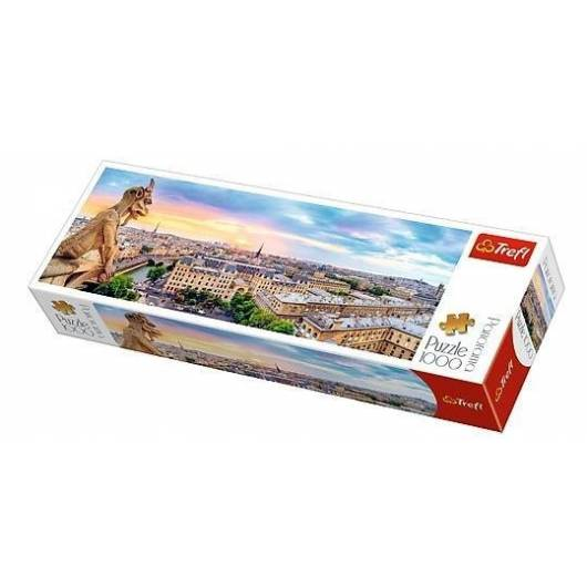 Puzzle 1000 Panorama - Widok z Katedry... TREFL