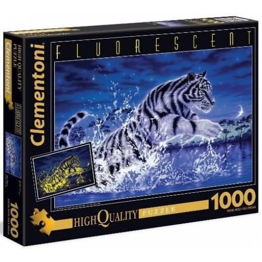 Puzzle 1000 Fluo Tiger