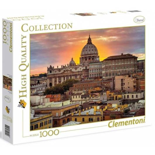 Puzzle 1000 HQ Rome at the sunset