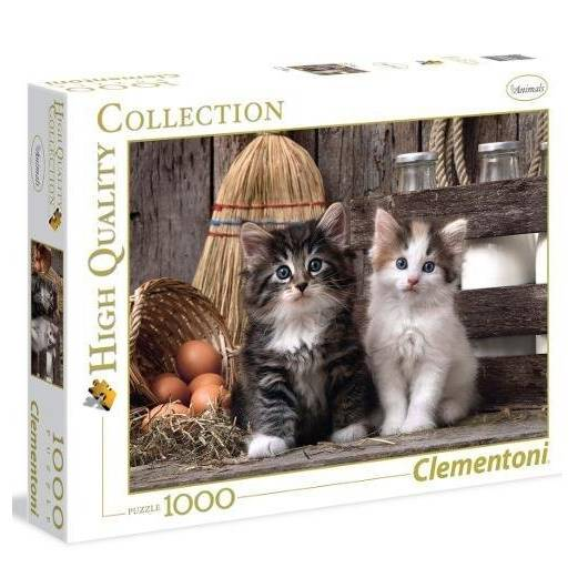 Puzzle 1000 HQ Lovely Kittens