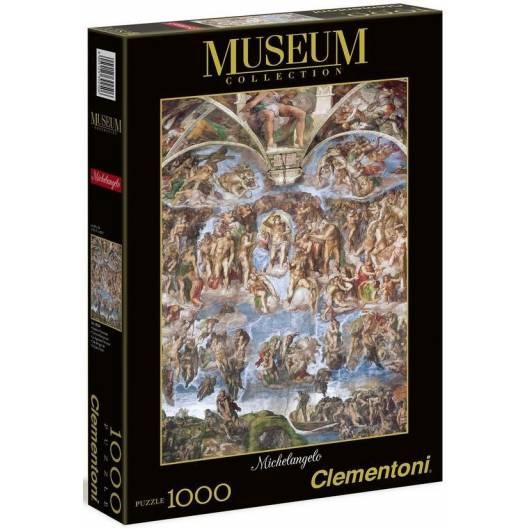 Puzzle 1000 Museum Michelangelo - Giudizio Univers