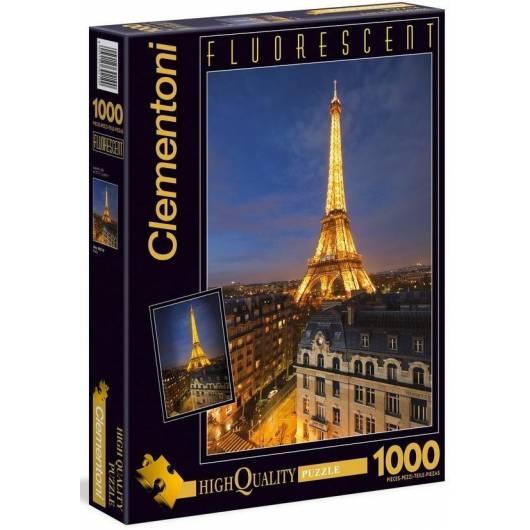 Puzzle 1000 Fluo Paris
