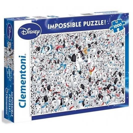 Puzzle 1000 Impossible 101 Dalmatyńczyków