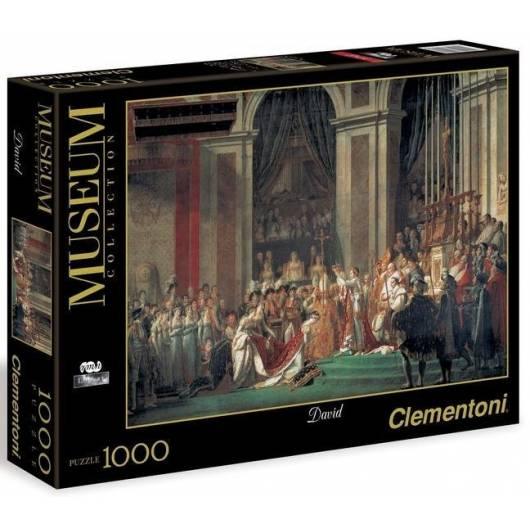 Puzzle 1000 Museum Louvre The Coronat. of Napoleon
