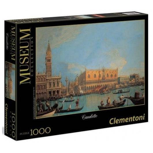 Puzzle 1000 Museum Canaletto - Palazzo Ducale