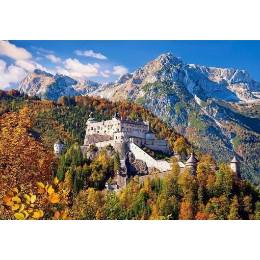 Puzzle 1000 Hohenwerfen Castle, Austria CASTOR