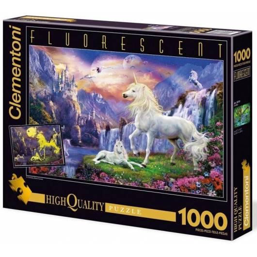 Puzzle 1000 Fluo Early Evening