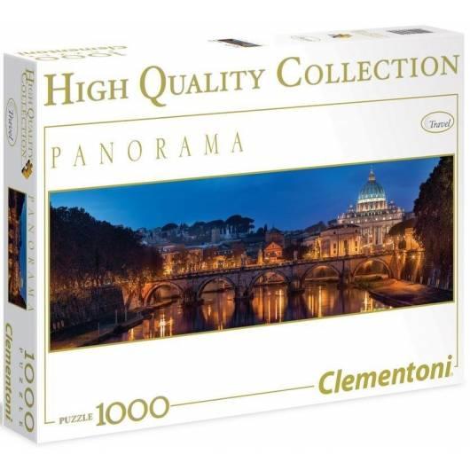 Puzzle 1000 HQ Panorama Roma