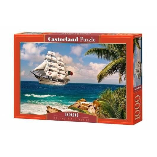 Puzzle 1000 Sailing in the Tropics CASTOR