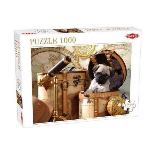 Puzzle 1000 Pets Pug Puppy