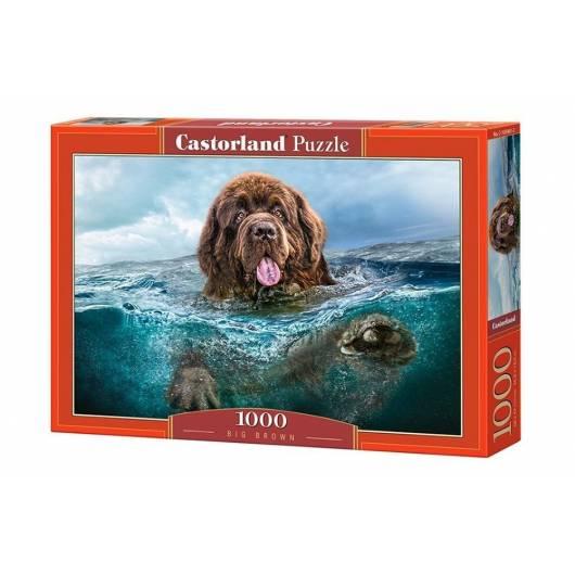 Puzzle 1000 Wielki brąz CASTOR
