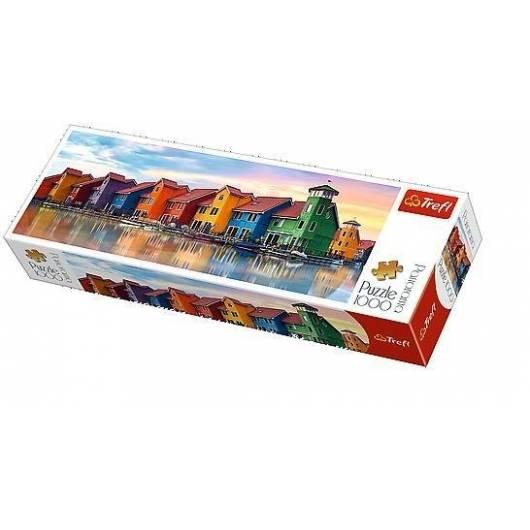 Puzzle 1000 Panorama - Groningen Holandia TREFL