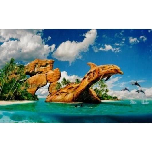 Puzzle 1000 Dolphin Paradise CASTOR