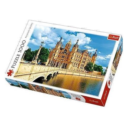 Puzzle 1000 Zamek w Schwerinie TREFL
