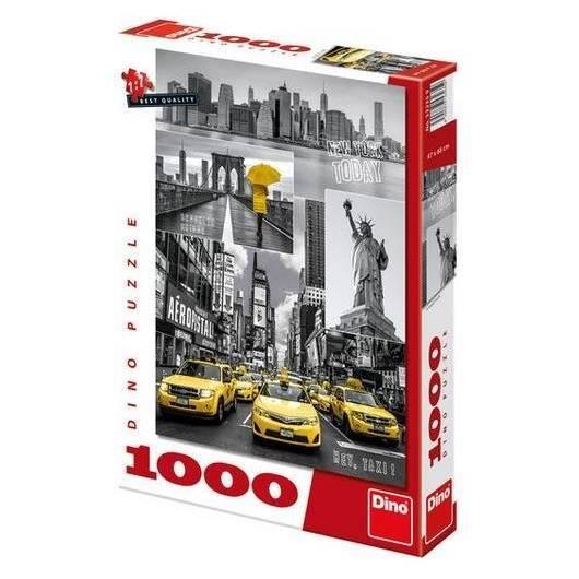 Puzzle 1000 Nowy York kolaż DINO