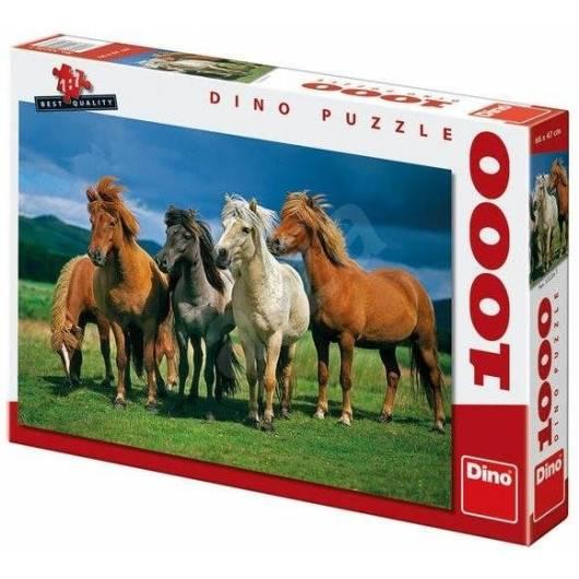 Puzzle 1000 Konie Islandzkie DINO
