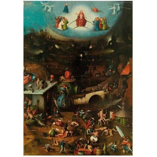 Puzzle 1000 - Bosch Sąd ostateczny