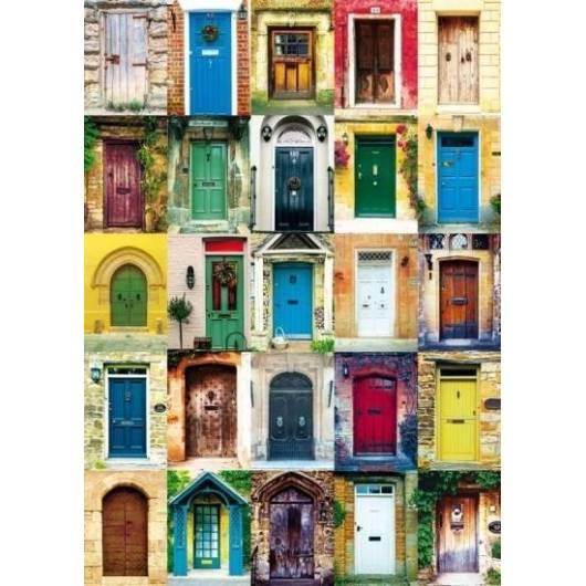 Puzzle 1000 - Drzwi