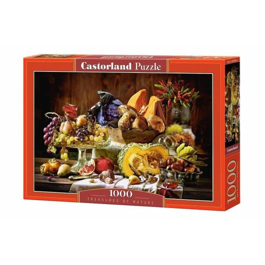 Puzzle 1000 Skarby Natury CASTOR