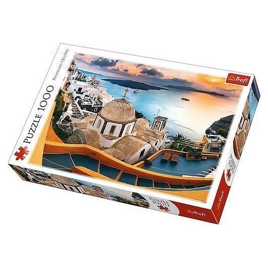 Puzzle 1000 Bajkowe Santorini TREFL