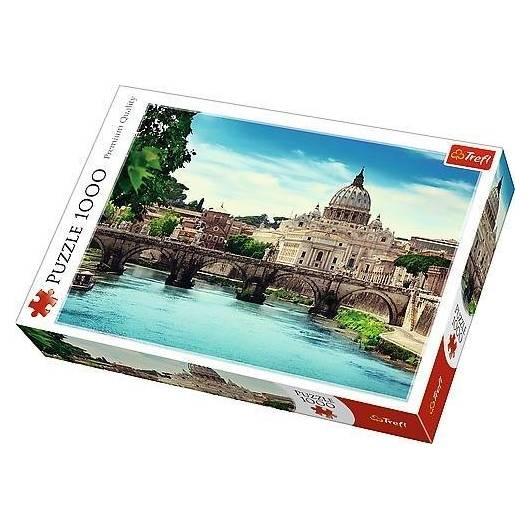 Puzzle 1000 Most Świętego Anioła TREFL