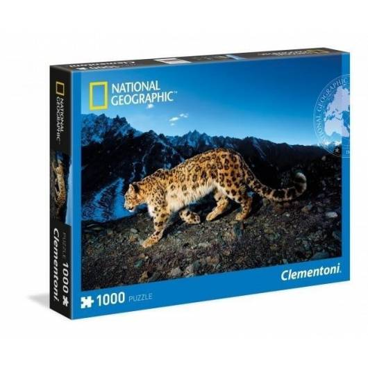 Puzzle 1000 National Geographic Lampart