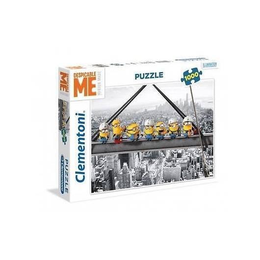 Puzzle 1000 DMF Minionki na szczycie wieżowca