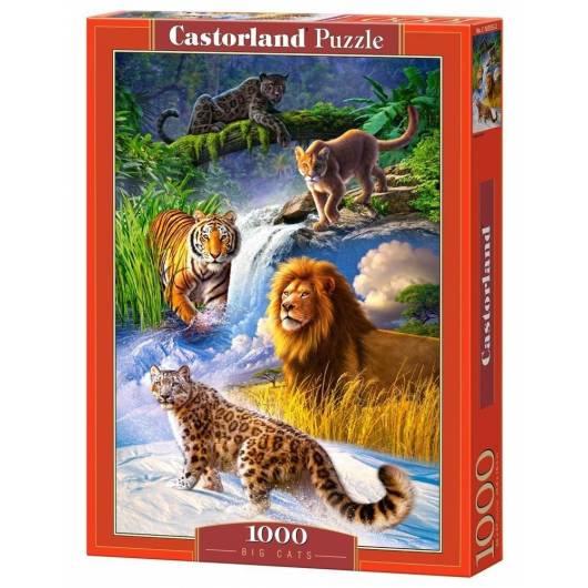 Puzzle 1000 Duży kot CASTOR